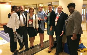 Susan with members of the Virginia Peninsula Association of REALTORS® at the NATIONAL ASSOCIATION OF REALTORS® Annual Legislative Conference in May 2016, where Susan presented on the value of using housing data and analytics to effect positive housing policy